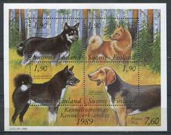 Finnland Finland Suomi Block 5 Postfrisch/MNH - Fauna Dogs - Ungebraucht