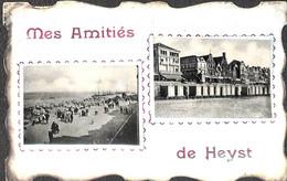 Heist - Heyst - Mes Amitiés De (2 Vues 1910) - Heist
