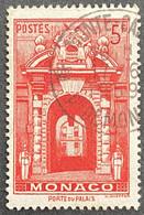 MCO0503U - Monaco Views - Palace Entrance - 5 F Used Stamp - Monaco - 1959 - Gebruikt