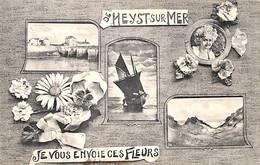 Heist - Heyst - Je Vous Envoie Ces Fleurs (multi-vues Phototypie L. Collin 1910) - Heist