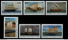 2002/2007** - Voiliers / Zeilschepen / Segelboote / Sailboats - CONGO - Ongebruikt