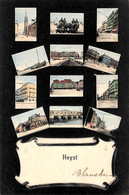 Heist - Heyst - Multi-vues Colorisée L.L Lagaert 1907 - Heist