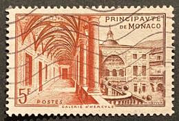 MCO0383U - Postal Museum - Hercules Gallery - 5 F Used Stamp - Monaco - 1952 - Gebruikt