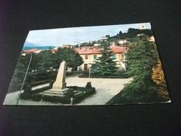 MONUMENTO AI CADUTI WAR MEMORIAL PIAZZA DEL COMUNE CALENZANO FIRENZE STORIA POSTALE FRANCOBOLLO COMMEMORATIVO ITALIA - Oorlogsmonumenten