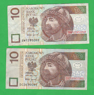 Polonia 10 + 10 Zloty Zlotyck Poland - Poland