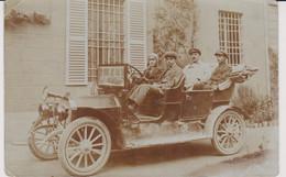 REGGIO EMILIA RARA CARTOLINA FOTOGRAFICA CON AUTO ANIMATA 1912 BELLA ! - Reggio Emilia