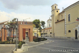 (R253) - SAN NICOLA LA STRADA (Caserta) - Piazza Municipio - Caserta