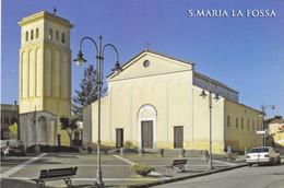 (R255) - SANTA MARIA LA FOSSA (Caserta) - Piazza Europa E Chiesa Maria Santissima Delle Grazie - Caserta