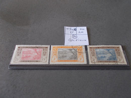 TIMBRE COTE D'IVOIRE.N°54/6.OBL .CATALOGUE YVERT. - Used Stamps