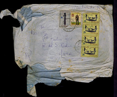 #87996 TIMOR Very Scarce Item Indigena Wood Handicraft Cultures Costumes Portugal Mailed Normal Damaged In This Colony - Non Classificati
