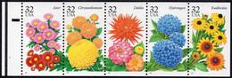 U.S.A.  U.S.A. :1995: Y.2401-05*** Postfris/neufs/MNH : BLOEMEN,FLEURS,FLOWERS. - Altri
