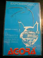 Agorà Expomercato  Martano Lecce Annullo 1983 Figurato Retro - Altri