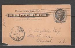 USA-Postal Card-Used-Dated December 14-1900 - ...-1900