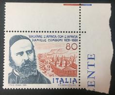 ITALIE / 1981 / N°Y-T : 1474 - 1981-90:  Nuovi