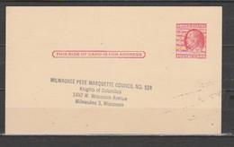 USA-Postal Card. - 1921-40