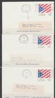 USA-Lot Of 6 Used Postal Cards. - 1981-00