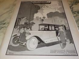ANCIENNE PUBLICITE VOITURE FRANCAISE DE LUXE VOITURE VOISIN 1919 - KFZ