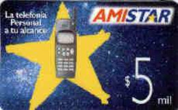 CHILI : CHI02 $5mil Amistar (nokiaGsm) '8'97 USED - Cile