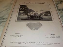 ANCIENNE PUBLICITE VOITURE DE QUALITE  ROCHET SCHNEIDER  1920 - KFZ