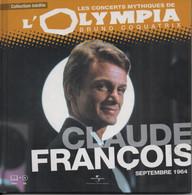Livre CD. CLAUDE FRANCOIS - Concert Mythique De L'OLYMPIA 1964. 12 Titres - - Musicals