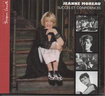 1 CD + 1 DVD. JEANNE MOREAU - Succès Et Confidences - Avec LIVRET - Musicals