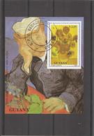 Peintures - VanGogh ( BF 97 Oblitéré De Guyana) - Altri