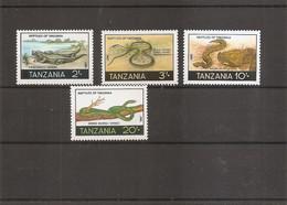 Reptiles ( 325/328 XXX -MNH- De Tanzanie) - Non Classificati