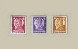 Hungary 1929. Saint Stephan II. Nice Set MNH (**) Michel: 455-457 - Ungebraucht