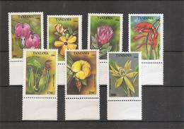 Fleurs ( 1702/1708 XXX -MNH- De Tanzanie) - Non Classificati
