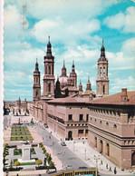 Zaragoza - Plaza De Ntra Sra Del Pilar - Formato Grande Viaggiata – E 14 - Zaragoza