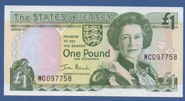 JERSEY - P.26a – 1 POUND ND (2000) UNC Serie WC097758 - Jersey