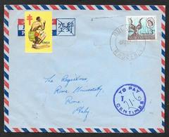 196???? SOUTHERN RHODESIA BULAWAYO TO ROMA N°C383 - Southern Rhodesia (...-1964)
