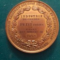 CHALONS SUR MARNE - MARNE - EXPOSITION REGIONALE - INDUSTRIE - PETIT Freres - PARIS - Rue MOREAU - 1861 - Professionnels / De Société
