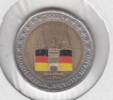 ALLEMAGNE - 2 Euros 2006 (Holstentor Lubeck)(atelier J)(colorisé) - Deutschland