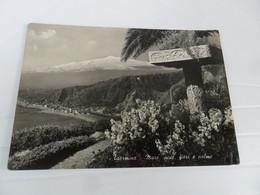 Cartolina  TAORMINA 1954 - Altre Città