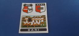 Figurina Calciatori Panini 1972/73 - 387 Scudetto E Squadra Bari - Edizione Italiana