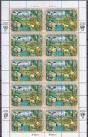UNO NEW YORK  608-611, Kleinbogen, Postfrisch **, Wirtschaftskommission Für Europa (ECE): Für Eine Bessere Umwelt 1991 - Blocks & Kleinbögen