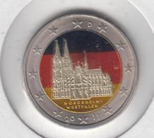 ALLEMAGNE - 2 Euros 2011 (cathedrale De Cologne)(atelier J)(colorisé) - Deutschland