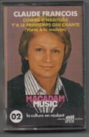 K7 Audio. Claude FRANCOIS. MACADAM MUSIC 02 - 12 Titres - Offert Par ELF - ANTAR. Hors Commerce - Cassette