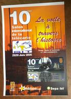 SEPATEL 10 MN HOUILLES SIT 2005 AVEC ENCART PRÉPAYÉE PREPAID PHONECARD CARD PAS TÉLÉCARTE - Altre Schede Prepagate