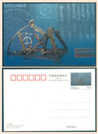 China 2000 Astronomy Mathematics Number Pi, Postal Stationery Postcard With Imprinted Stamp - Astronomia