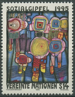 UNO Wien 1995 Soziale Entwicklung Gemälde F.Hundertwasser 179 Postfrisch - Ungebraucht