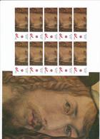1 Sheet Albrecht Dürer  10 Personal Stamps België Auto Portrait - Altri
