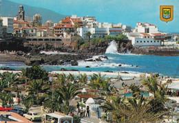 Tenerife - Puerto De La Cruz - Vista Parcial - Formato Grande Viaggiata – E 14 - Tenerife