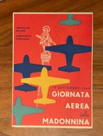 CARTOLINA POSTALE L.10 - GIORNATA AEREA DELLA MADONNINA  AEROPORTO FORLANINI 19/9/48  - RR - Interi Postali