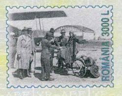 131  Avion, Aéroport, Bicycle: PAP De La Roumanie, 2002 - Aviation, Airport, Plane On Stationery. Cycling Cyclisme Vélo - Vélo