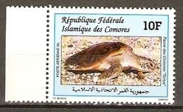 Comoros 1995 MiNr. 1121  Komoren Marine Life  Green Sea Turtles 1v  MNH** 15,00 € - Tartarughe