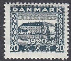 Denmark, Scott #157, Mint Hinged, Castle, Issued 1920 - Ungebraucht