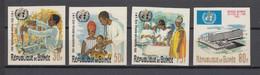 Guinea1967,4V In Set,IMPERF,UNICEF, MNH/Postfris(A4139) - UNICEF