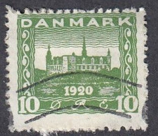 Denmark, Scott #159, Used, Castle, Issued 1921 - Used Stamps